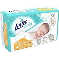 LINTEO Baby Prémium MINI (3–6 kg) 34 ks  - Dětské pleny