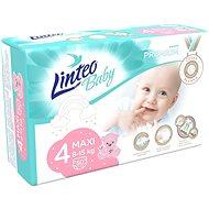 LINTEO Baby Prémium MAXI (8–15 kg) 50 ks - Dětské pleny