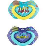 Canpol babies NEON LOVE 6–18m 2 ks modrý