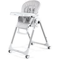 Peg Pérego Prima Pappa Follow Me Linear Grey 2021 - Jídelní židlička