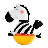 Skip Hop Hračka Wobble ABC&ME Zebra se zvukem zvonění 3 m+
