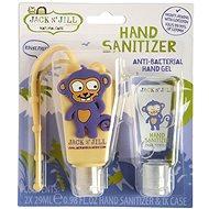 Jack N' Jill Antibakteriální gel na ruce pro děti 2× 29 ml OPICE - Antibakteriální gel