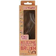 Jack N' Jill Silikónový kartáček Zuby & Dásně - Dětský zubní kartáček