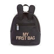CHILDHOME My First Bag Black - Batůžek