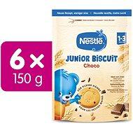 NESTLE Junior Biscuit Chocolate 6× 150 g