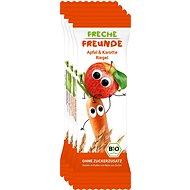 Freche Freunde BIO Ovocná tyčinka - Jablko a mrkev 4× 23 g - Sušenky pro děti
