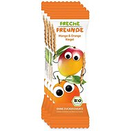 Freche Freunde BIO Ovocná tyčinka - Mango a pomeranč 4× 23 g - Sušenky pro děti