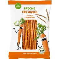 Freche Freunde BIO Špaldové tyčinky s mrkví 75 g - Sušenky pro děti