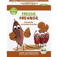 Freche Freunde BIO Kakaové sušenky s kousky datlí 125 g - Sušenky pro děti