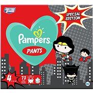 PAMPERS Pants vel. 4 (72 ks) 9–15 kg - Plenkové kalhotky