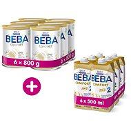 BEBA COMFORT 2 HM-O 6× 800 g + BEBA COMFORT Liquid 2 HM-O 6× 500 ml - Kojenecké mléko