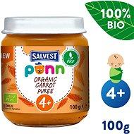 SALVEST Ponn BIO Mrkvové pyré (100 g) - Příkrm