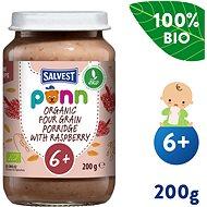 SALVEST Ponn BIO Maliny s cereáliemi (200 g) - Příkrm
