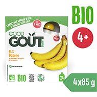 Good Gout BIO Banán (4× 85 g) - Příkrm