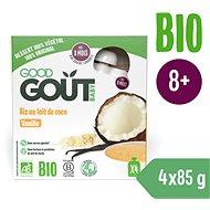 Good Gout Rýžový dezert s kokosovým nápojem a vanilkou (4× 85 g) - Příkrm
