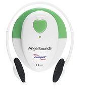 AngelSounds JPD 100S Prenatální odposlech, bílá/zelená - Monitor dechu