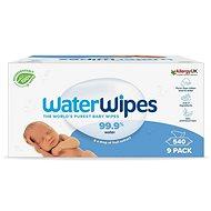 Dětské vlhčené ubrousky Waterwipes 100% BIO odbouratené ubrousky 9× 60 ks