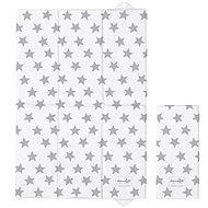 Ceba přebalovací podložka cestovní 60 × 40 cm, Day&Night Hviezdičky - Přebalovací podložka