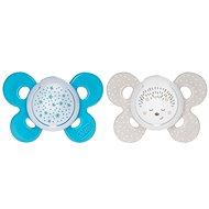 Chicco Physio Comfort silikon noční chlapec - hvězdy/ježek, 2 ks, 16–36 m+ - Dudlík