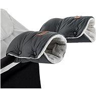 Petite&Mars rukávník / rukavice Jasie na kočárek Charcoal Grey - Rukávník na kočárek