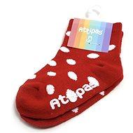 ATTIPAS ponožky Polka Dot, Red  - Ponožky