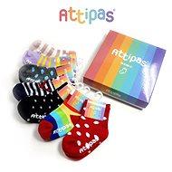ATTIPAS ponožky set mix (7 párů) - Ponožky