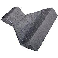 WOMAR trojhranná opěrka z minky šedá - Kojicí polštář