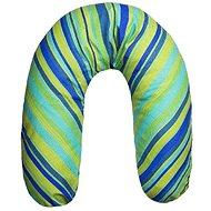 WOMAR univerzální kojící polštář modrozelený - Kojicí polštář