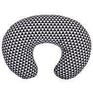 WOMAR univerzální kojící polštář černo-bílý - Kojicí polštář