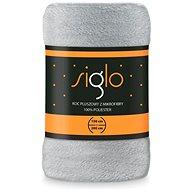 FARO deka mikroplyš Siglo světle šedá, 150×200 cm