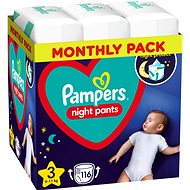 PAMPERS Night Pants vel. 3 (4× 29 ks)