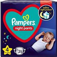 PAMPERS Night Pants vel. 4 (25 ks)