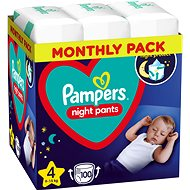 PAMPERS Night Pants vel. 4 (4× 25 ks)