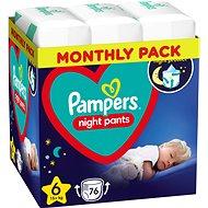 PAMPERS Night Pants vel. 6 (4× 19 ks)