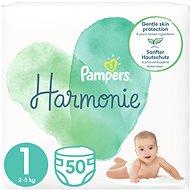 PAMPERS Harmonie vel. 1 (50 ks) - Dětské pleny