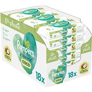 PAMPERS Coconut Pure 18× 42 ks