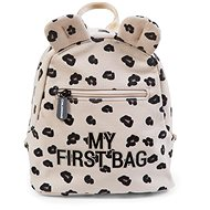 CHILDHOME My First Bag Canvas Leopard