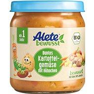 ALETE BIO zelenina s bramborem a kuřecím masem 250 g  - Příkrm