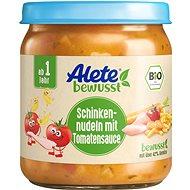 ALETE BIO těstoviny se šunkou v zeleninové omáčce 250 g - Příkrm