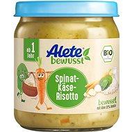 ALETE BIO sýrové rizoto se špenátem 250 g - Příkrm