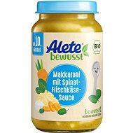 ALETE BIO zelenina smakaróny a sýrem 220 g - Příkrm