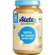 ALETE BIO špecle se zeleninou a sýrovou omáčkou 220 g - Příkrm
