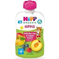 HiPP BIO 100% ovoce Jablko-Broskev-Lesní ovoce od uk. 4. měsíce, 6 × 100 g - Příkrm
