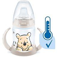 NUK  lahvička na učení  DISNEY-Medvídek Pú s kontrolou teploty 150 ml béžová