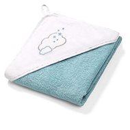 BabyOno froté ručník s kapucí 100 × 100 cm, modrá