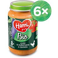 Hami BIO Lilek s kuřátkem a quinoa 6× 190 g