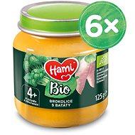 Hami BIO Brokolice s batáty 6× 125 g
