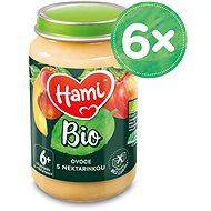 Hami BIO Ovoce s nektarinkou 6× 190 g