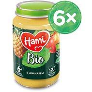 Hami BIO S Ananasem 6× 190 g