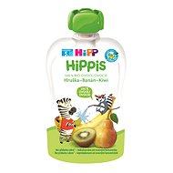 HiPP BIO 100% ovoce Hruška-Banán-Kiwi 6× 100 g - Příkrm